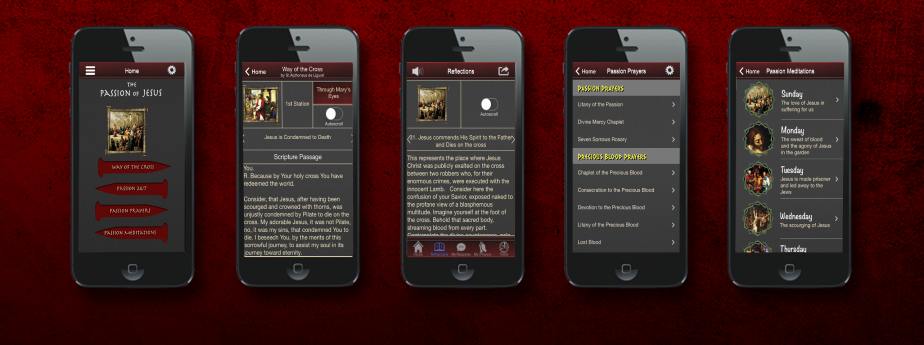 Passion of Jesus App